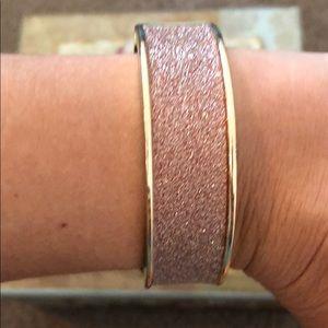 Pink glittery bracelet 💙